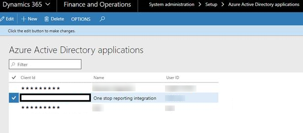 Create connection to Dynamics 365 | OneStop Reporting - Help